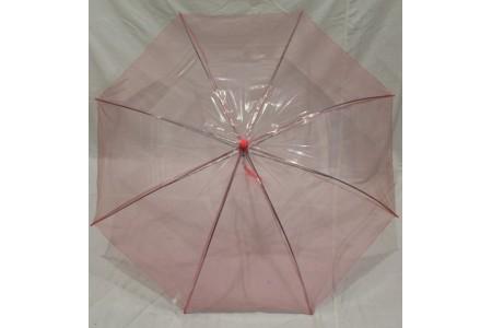детский прозрачный зонт