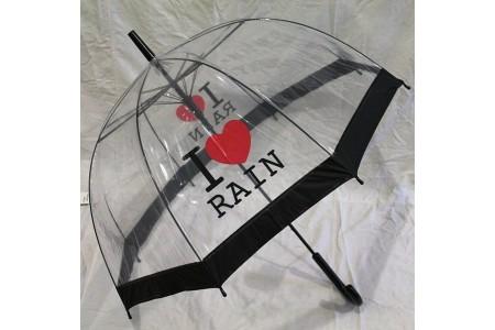 зонт трость прозрачный грибком ОПТ