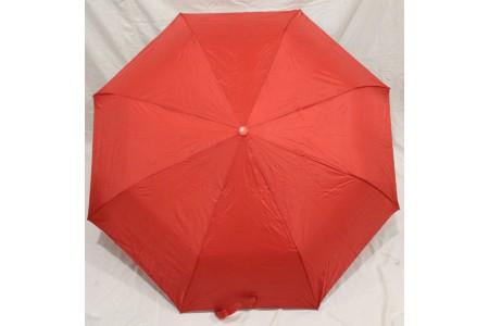 зонт полуавтомат однотонный