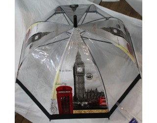 зонт прозрачный, грибком