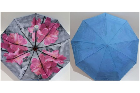 зонт с двойной тканью
