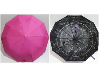 зонт с рисунком под куполом