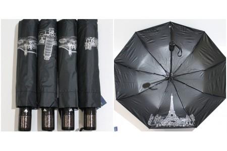 зонт с рисунком под куполом ОПТ