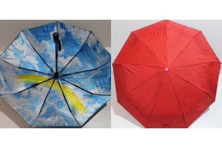 зонт автомат с двойной тканью